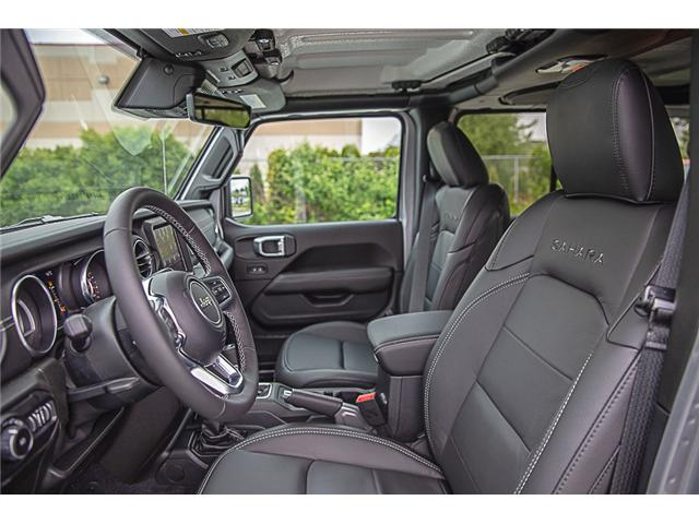2019 Jeep Wrangler Unlimited Sahara (Stk: K602689) in Surrey - Image 10 of 25
