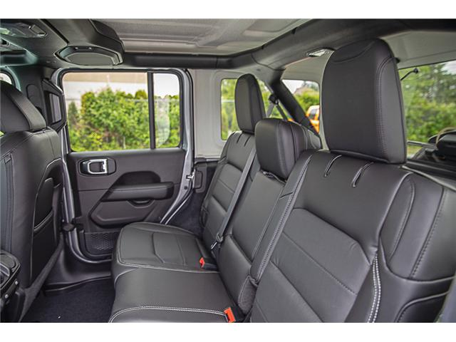 2019 Jeep Wrangler Unlimited Sahara (Stk: K602689) in Surrey - Image 12 of 25