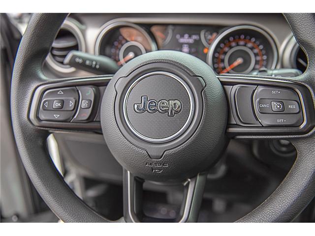 2019 Jeep Wrangler Sport (Stk: K633078) in Surrey - Image 12 of 19