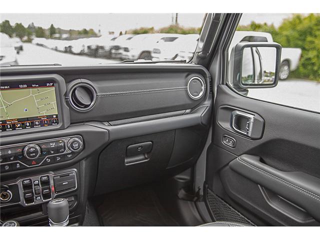 2019 Jeep Wrangler Unlimited Sahara (Stk: K602682) in Surrey - Image 15 of 25