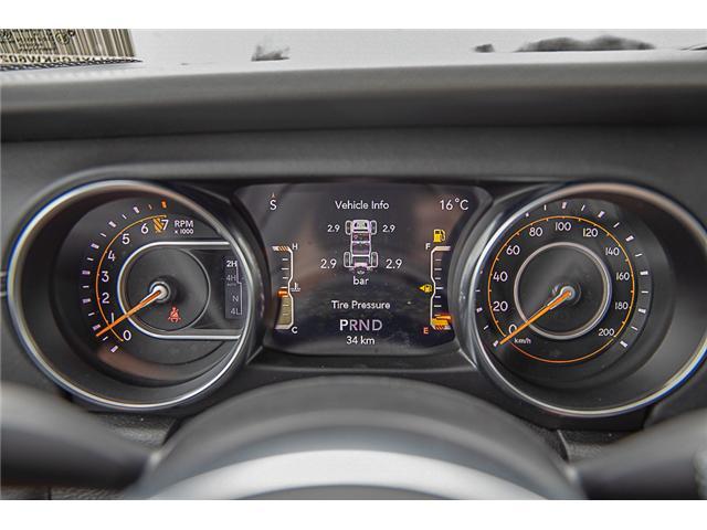 2019 Jeep Wrangler Unlimited Sahara (Stk: K602682) in Surrey - Image 18 of 25