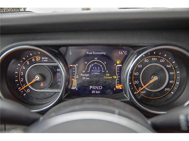 2019 Jeep Wrangler Unlimited Sahara (Stk: K602689) in Surrey - Image 17 of 25