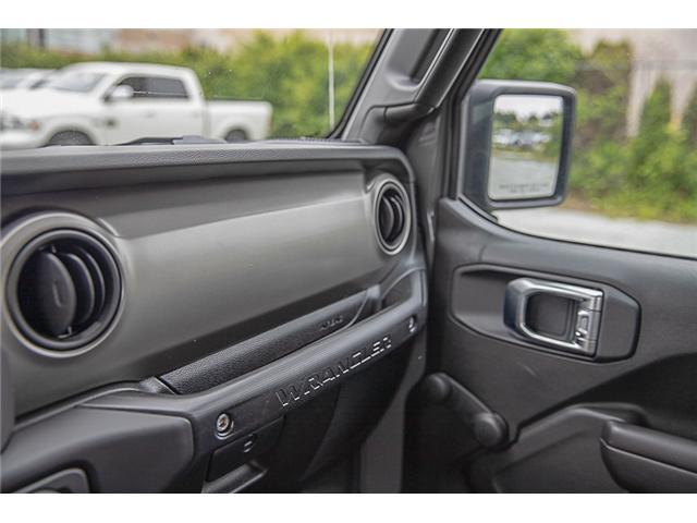 2019 Jeep Wrangler Sport (Stk: K633078) in Surrey - Image 18 of 19
