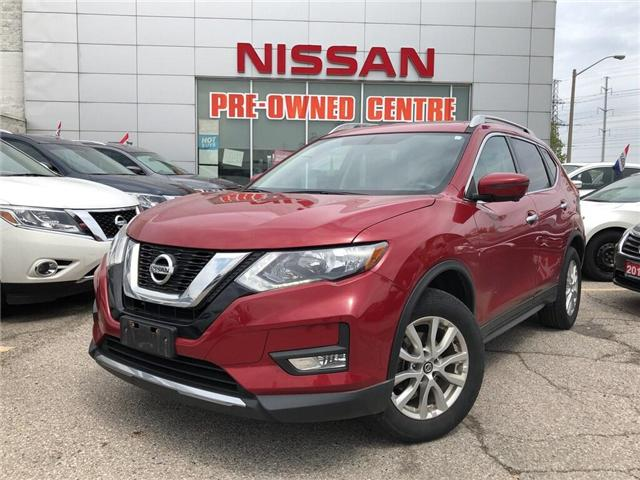 2017 Nissan Rogue SV-AWD-TECH-SUNROOF (Stk: U3047) in Scarborough - Image 1 of 19