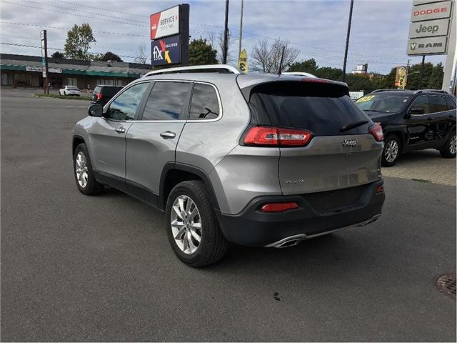 2016 Jeep Cherokee Limited (Stk: 19J015A) in Kingston - Image 2 of 20