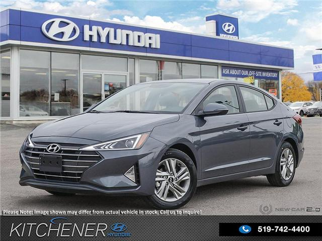 2020 Hyundai Elantra Preferred w/Sun & Safety Package (Stk: 58989) in Kitchener - Image 1 of 23
