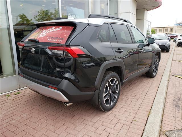 2019 Toyota RAV4 Trail (Stk: 9-699) in Etobicoke - Image 3 of 6
