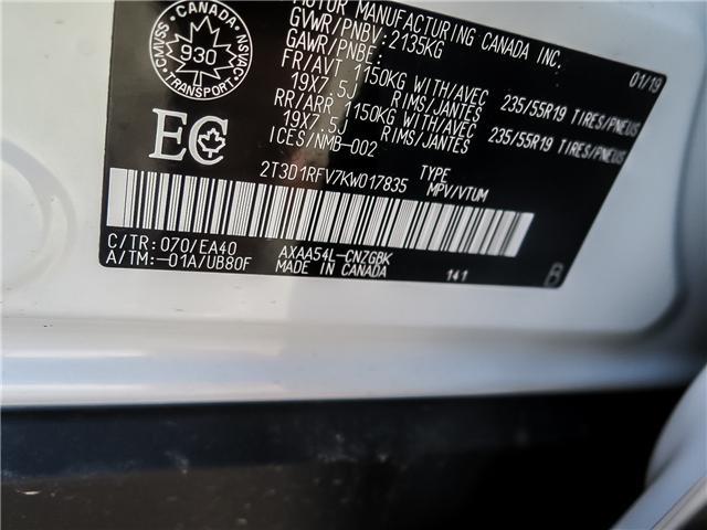 2019 Toyota RAV4 Limited (Stk: 95141) in Waterloo - Image 17 of 20