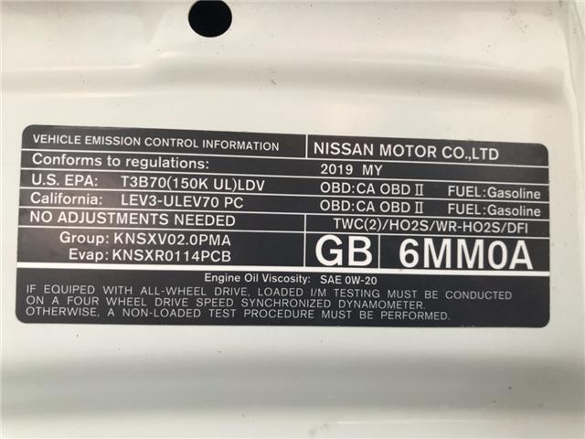 2019 Nissan Qashqai SL (Stk: KW311132) in Sarnia - Image 30 of 30