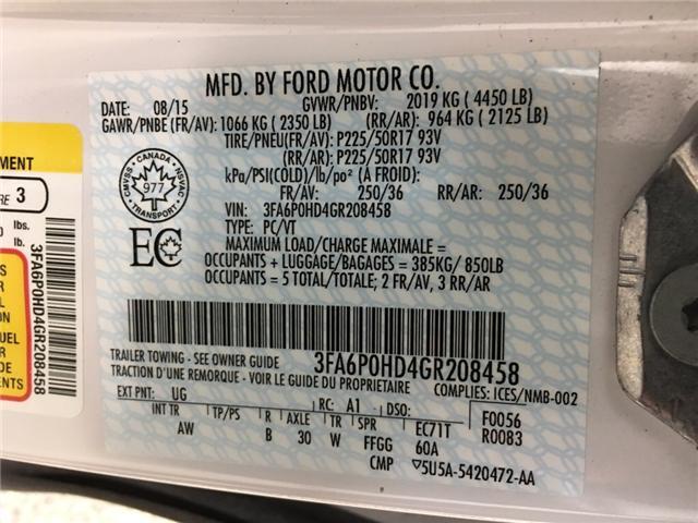 2016 Ford Fusion SE (Stk: 34922RA) in Belleville - Image 21 of 25