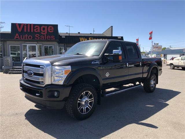 2014 Ford F-350 Lariat (Stk: P36441C) in Saskatoon - Image 1 of 19