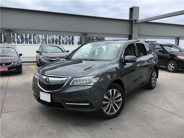 2016 Acura MDX Navigation Package (Stk: T19624A) in Toronto - Image 1 of 23