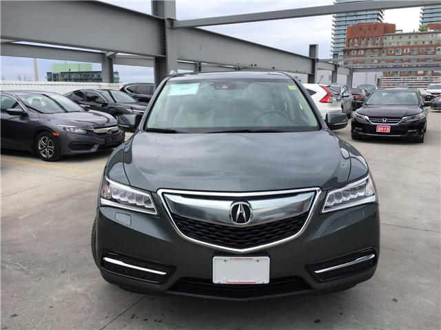 2016 Acura MDX Navigation Package (Stk: T19624A) in Toronto - Image 2 of 23