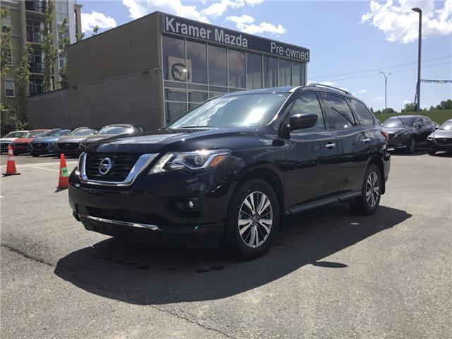 2019 Nissan Pathfinder SV Tech (Stk: K7877) in Calgary - Image 1 of 17