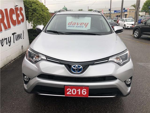 2016 Toyota RAV4 Hybrid XLE (Stk: 19-397) in Oshawa - Image 2 of 16