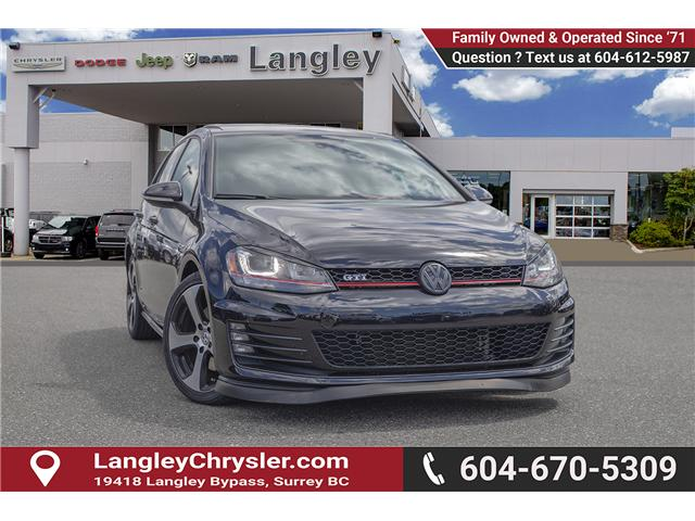 2015 Volkswagen Golf GTI 5-Door Autobahn (Stk: J893195C) in Surrey - Image 1 of 26