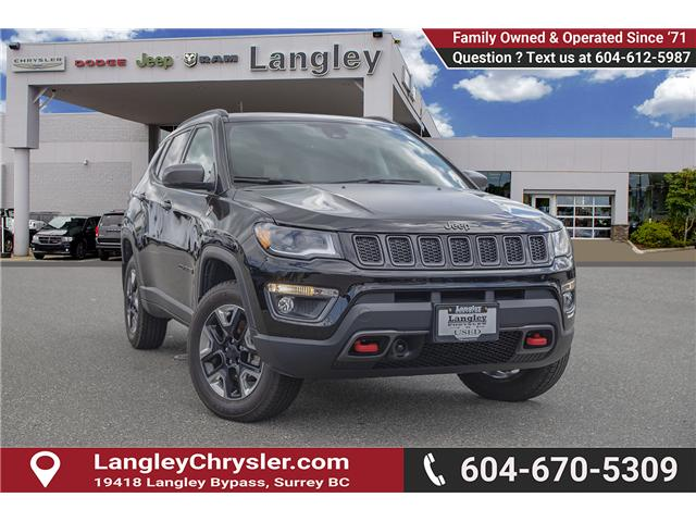 2018 Jeep Compass Trailhawk (Stk: K758714A) in Surrey - Image 1 of 28