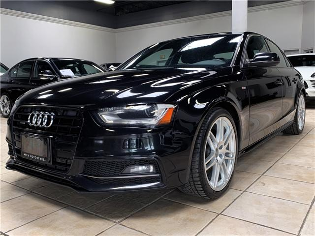 2014 Audi A4 2.0 (Stk: AP1870) in Vaughan - Image 1 of 22