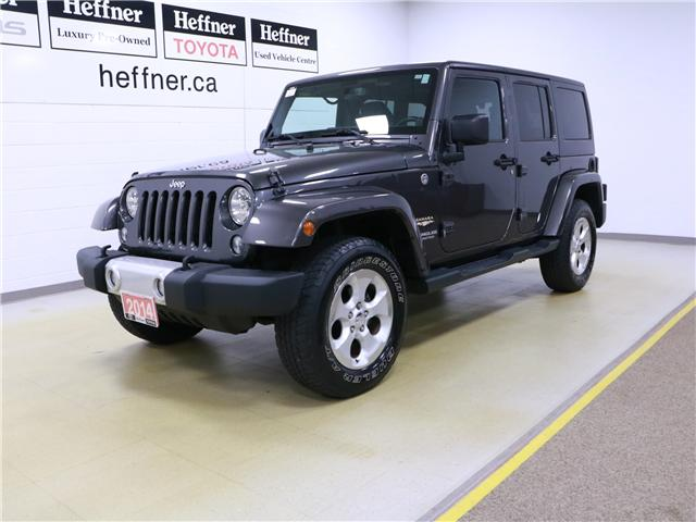2014 Jeep Wrangler Unlimited Sahara (Stk: 195407) in Kitchener - Image 1 of 28