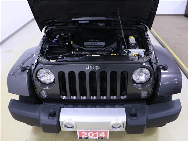 2014 Jeep Wrangler Unlimited Sahara (Stk: 195407) in Kitchener - Image 25 of 28