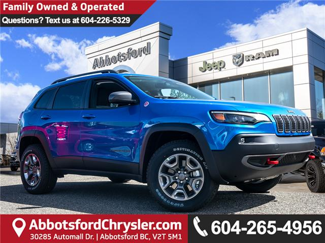 2019 Jeep Cherokee Trailhawk (Stk: K447772) in Abbotsford - Image 1 of 24