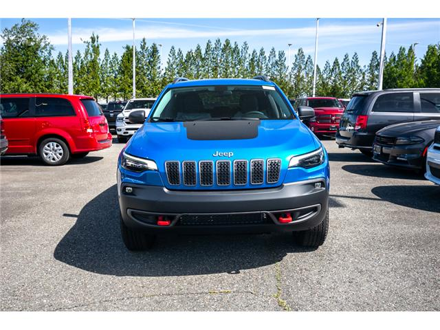 2019 Jeep Cherokee Trailhawk (Stk: K447772) in Abbotsford - Image 2 of 24