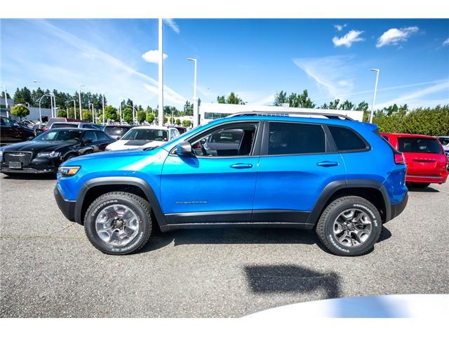 2019 Jeep Cherokee Trailhawk (Stk: K447772) in Abbotsford - Image 4 of 24