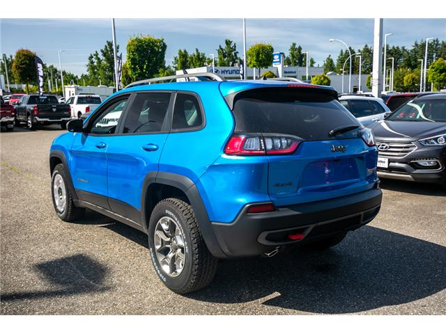 2019 Jeep Cherokee Trailhawk (Stk: K447772) in Abbotsford - Image 5 of 24