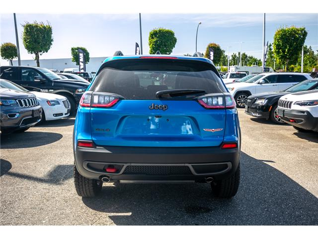 2019 Jeep Cherokee Trailhawk (Stk: K447772) in Abbotsford - Image 6 of 24