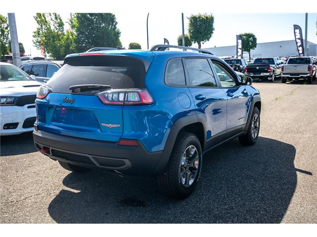 2019 Jeep Cherokee Trailhawk (Stk: K447772) in Abbotsford - Image 7 of 24