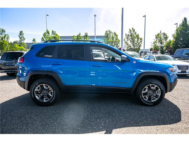 2019 Jeep Cherokee Trailhawk (Stk: K447772) in Abbotsford - Image 8 of 24