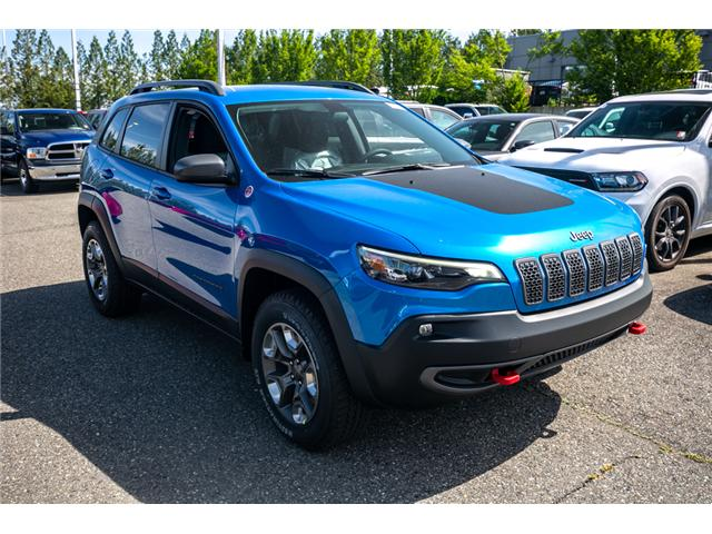 2019 Jeep Cherokee Trailhawk (Stk: K447772) in Abbotsford - Image 9 of 24