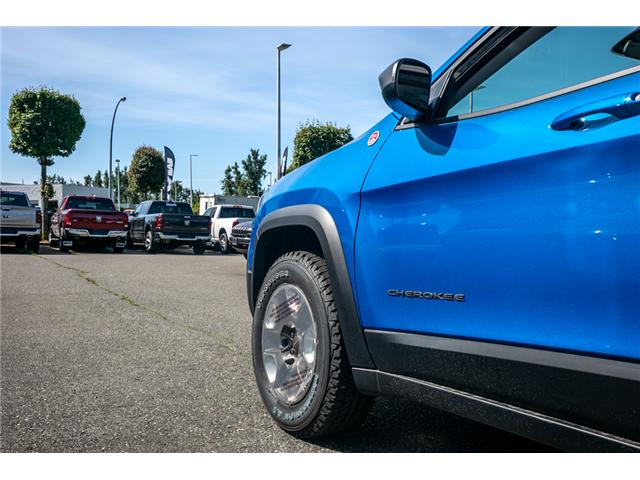 2019 Jeep Cherokee Trailhawk (Stk: K447772) in Abbotsford - Image 16 of 24