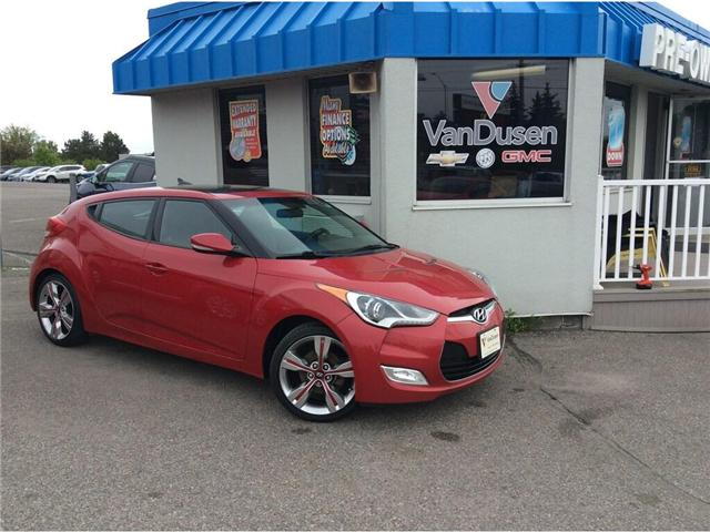 2014 Hyundai Veloster Tech (Stk: B7411) in Ajax - Image 1 of 23