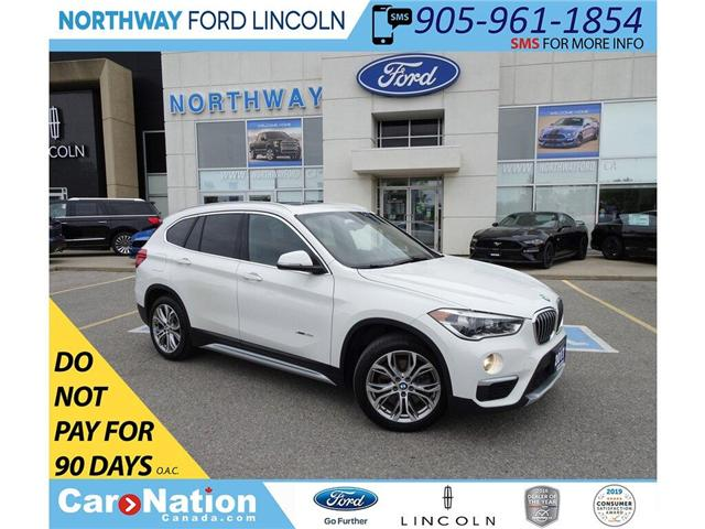 2017 BMW X1 xDrive28i | AWD | PWR HTD LEATHER | PANO ROOF | (Stk: DR233) in Brantford - Image 1 of 45