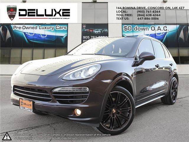 2014 Porsche Cayenne DIESEL (Stk: D0586) in Concord - Image 1 of 24