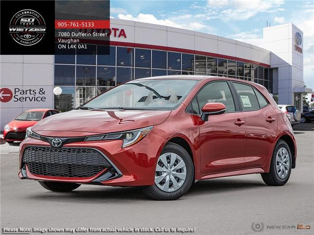 2019 Toyota Corolla Hatchback CVT (Stk: 68890) in Vaughan - Image 1 of 24