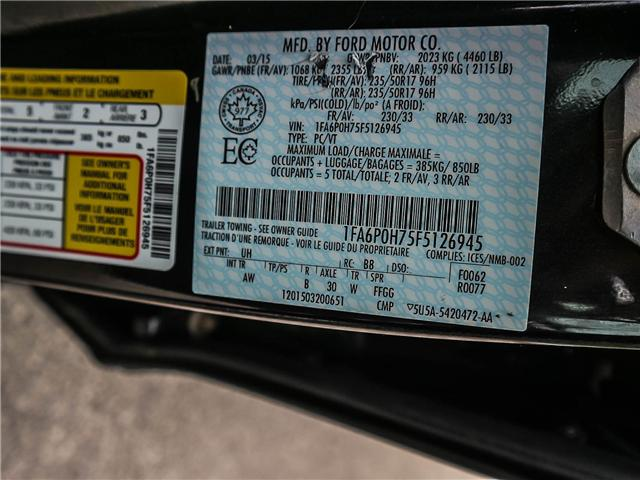 2015 Ford Fusion SE (Stk: 6559K5) in Toronto - Image 25 of 26