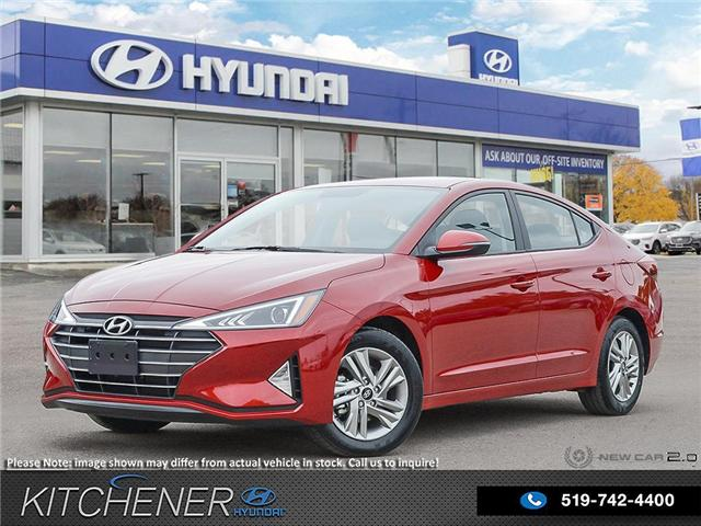 2020 Hyundai Elantra Preferred w/Sun & Safety Package (Stk: 59014) in Kitchener - Image 1 of 23