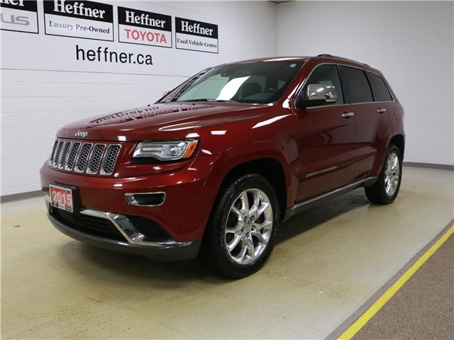 2015 Jeep Grand Cherokee Summit 1C4RJFJT9FC635970 186554 in Kitchener