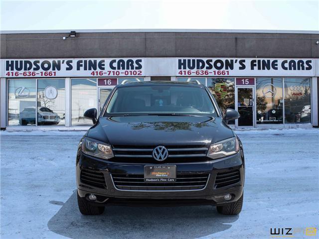 2012 Volkswagen Touareg 3.0 TDI Comfortline (Stk: 05193) in Toronto - Image 2 of 30