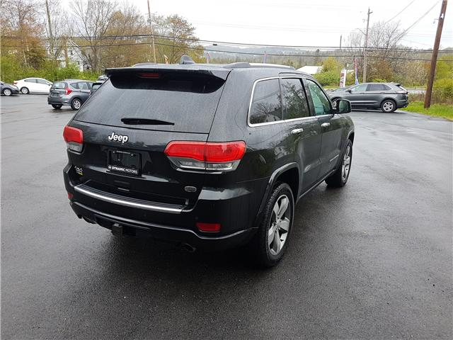 2015 Jeep Grand Cherokee Overland (Stk: 00123) in Middle Sackville - Image 5 of 28