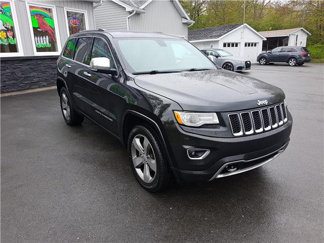2015 Jeep Grand Cherokee Overland (Stk: 00123) in Middle Sackville - Image 7 of 28