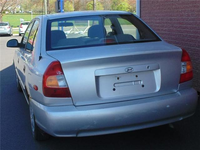 2002 Hyundai Accent GL (Stk: N358A) in Charlottetown - Image 2 of 6