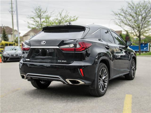 2017 Lexus RX 350 Base (Stk: 12157G) in Richmond Hill - Image 4 of 16