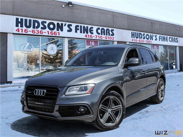 2017 Audi Q5 2.0T Technik (Stk: 01408) in Toronto - Image 1 of 29