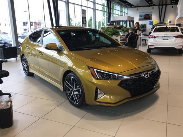 2019 Hyundai Elantra Sport (Stk: R96020) in Ottawa - Image 1 of 10