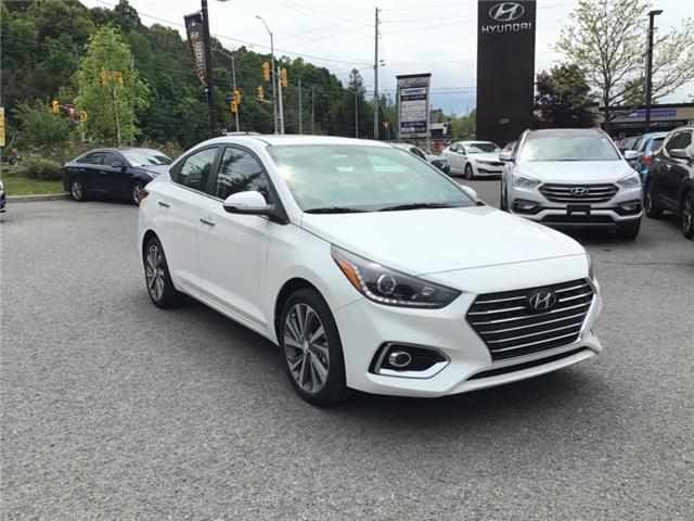 2019 Hyundai Accent Ultimate (Stk: R95557) in Ottawa - Image 1 of 11