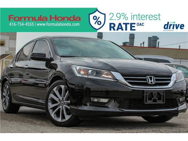 2015 Honda Accord Sport (Stk: B11212) in Scarborough - Image 1 of 28