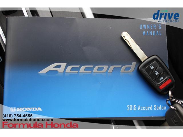 2015 Honda Accord Sport (Stk: B11212) in Scarborough - Image 28 of 28